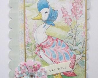 Beatrix Potter Character Card