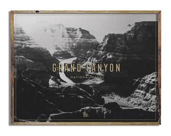 Grand Canyon Tintype Print
