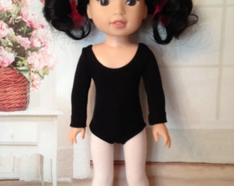 """Ballet Leotard & Tights for 14"""" American Girl Wellie Wishers Doll"""