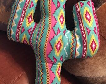 Cactus Pillow Decorative Southwest Decor
