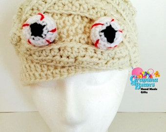 Mummy Monster Beanie