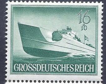 Grossdeutsches Reich 16+10 Pf 1944 Postage Stamp