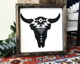 Navajo Cow Skull