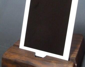 Wood iPad iPhone Dock / Docking Station / Charging Station