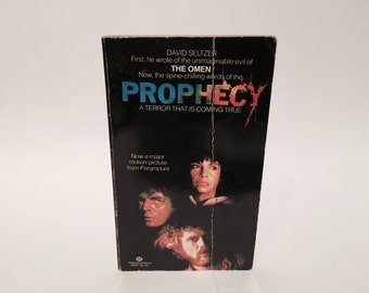 Vintage Horror Book Prophecy by David Seltzer 1979 Movie Tie-In Edition Paperback