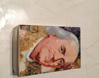 avon ben franklin decanter in original box