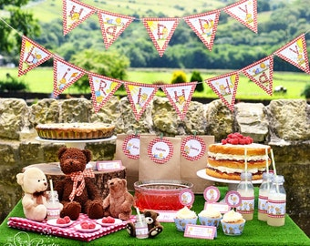 Teddy Bear's Picnic complete party set!