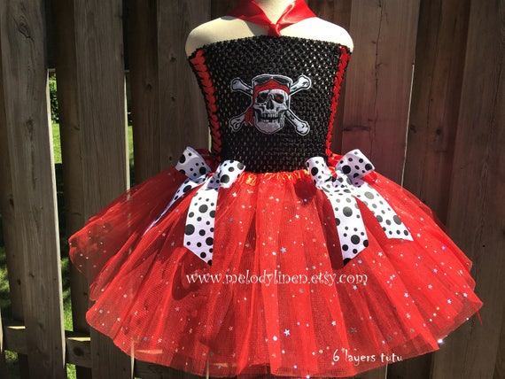 Pirates Of The Caribbean Tutu Dress