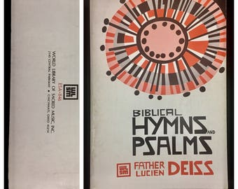 WLSM Biblical Hymns and Psalms Father Lucien Deiss 1965