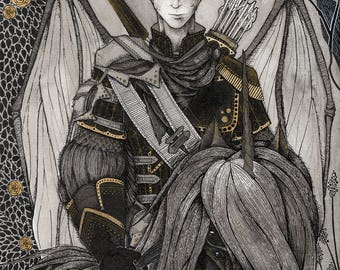 Black Knight #1 - print