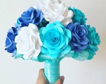 Paper Rose Bouquet / Paper Rose / Wedding Bouquet