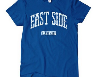 Women's East Side Represent T-shirt - S M L XL 2x - Ladies' Tee - 4 Colors