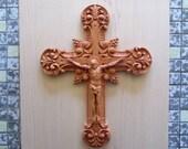 Wooden Crucifix ~ Wood Wa...