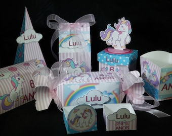 Unicorn 78 Piece Party Kit