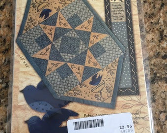 Sweet June Table Mat and bookmark KS 1311 by Kathy Schmitz pattern/instructions new