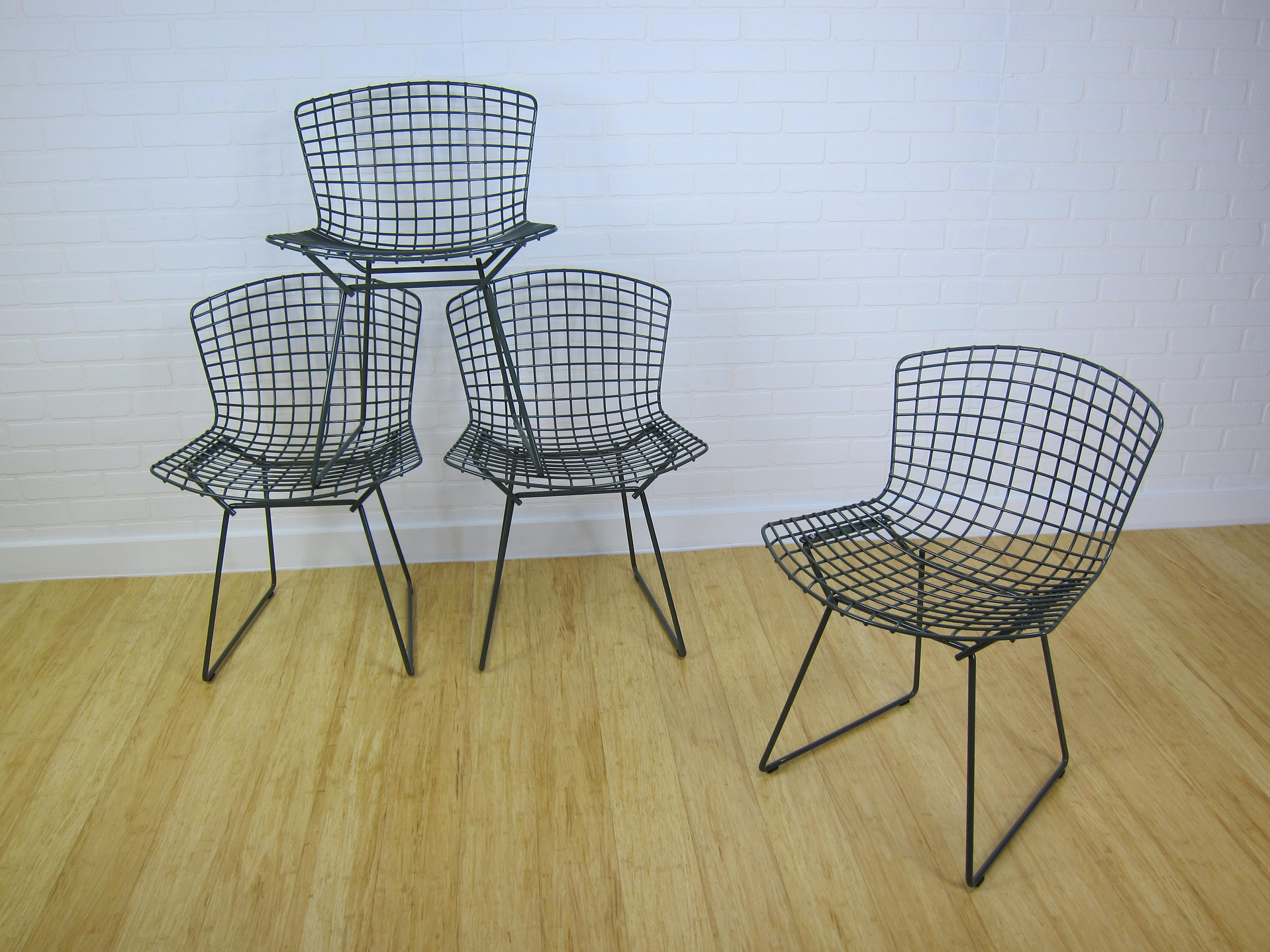 Harry Bertoia for Knoll side chairs x4