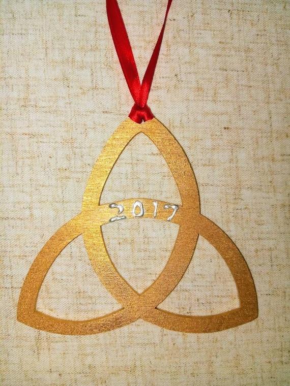 Trinity Ornament Celtic Trinity Symbol Ornament Holy Trinity