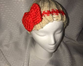 Hand Knitted womens hat