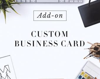 Custom Made Business Card Design