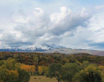 Mt. Sopris in Autumn