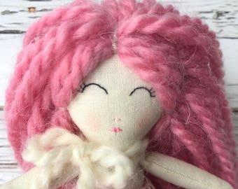 Heirloom doll, Tiny Doll, Handmade doll, doll for present