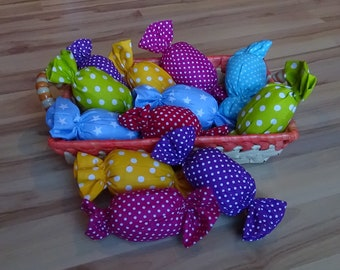UniCat Rattle/Jingle Cat Toy - candy shaped cat toy, valerian and catnip inside