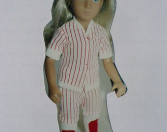Sasha Baseball Uniform Pattern