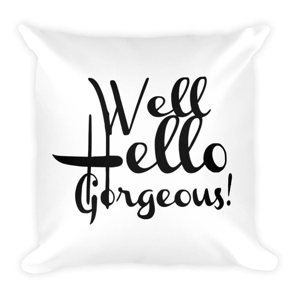 Well known Hello, Gorgeous! Pillow YR55