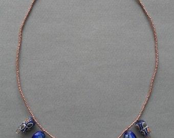 Cobalt Princess Necklace