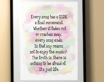 One Tree Hill/One Tree Hill Quote/OTH/Best One Tree Hill Quote/Ellie/Every song/CODA/OTH Download/One Tree Hill Poster
