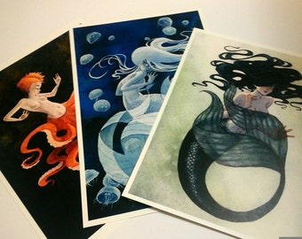 SPECIAL! Any 3 8x10 Mermaid Prints of your Choice.
