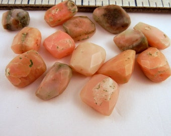 pink opal chunks 11 inches
