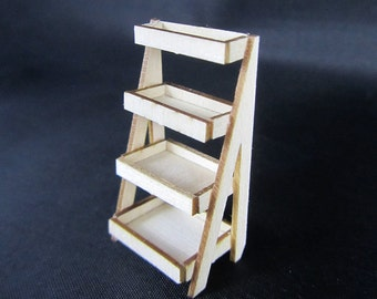 Quarter Scale 4 Tiered Display or Planter Kit