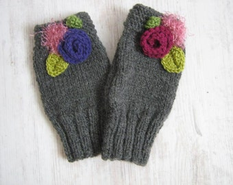 Knitting gloves - Lilly