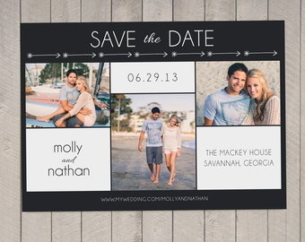 Save the Date Card (Printable) by Vintage Sweet