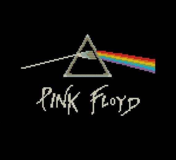 Cross Stitch Pattern Pdf Rock Music Band Logo Pink Floyd