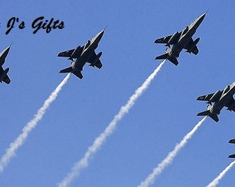 Cross Stitch PATTERN graph for fighter jets