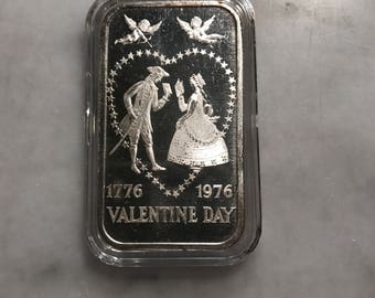 1776-1976 Valetine Day art bar