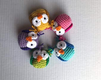 Hatching Owls Crochet Pattern - Crochet Eggs - Crochet Owl - Amigurumi - Crochet Pattern - Instant Download - Easter2017 - Hatching Eggs