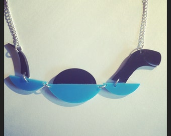 Nessie The Loch Ness Monster Acrylic Necklace
