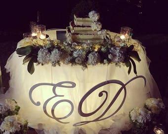 Wooden Letter for Wedding