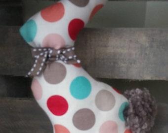Bunny, rustic bunny, fabric bunny, spring bunny, farmhouse decor, nursery decor, spring decor, baby shower gift.