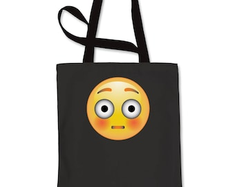 Color Emoticon - Surprise Smile Shopping Tote Bag