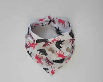 Winter Bandana - Moose & Bear