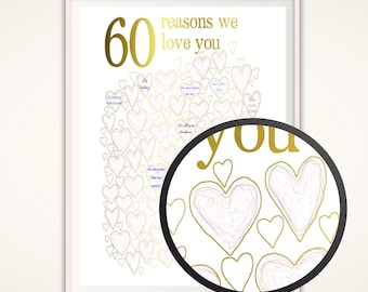60th birthday Etsy