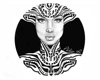Aziza - Large Art Print - The Beauty Collection