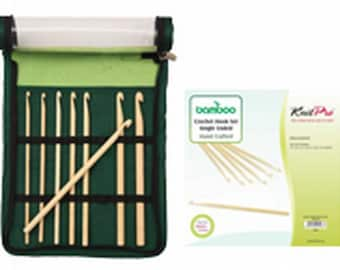 Knit Pro bamboo crochet hook set 22549