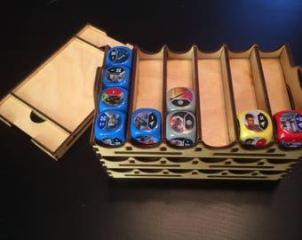 Organizer trays for Star Wars Destiny dice game (Design updated June 2017)