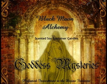 Goddess Mysteries Scented Soy Container Candle - ERESHKIGAL