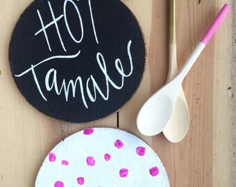Hot Tamale Cork Trivet
